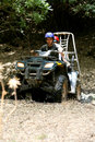 ATV offroad Stock Photography