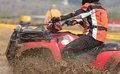 ATV race abstract Stock Photos