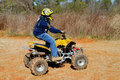 ATV Rider Stock Photo