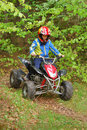Atv riding Stock Photography