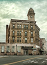 Auburn new york usa may the historic phoenix building on genesee street Royalty Free Stock Photo