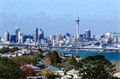 Auckland skyline nz may on may it s the largest and most populous urban area in the country it has residents which is Royalty Free Stock Images