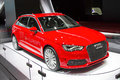 Audi a e tron barcelona may at barcelona international motor show salon internacional del automovil is one of the five major shows Royalty Free Stock Photos