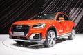 Audi Q2 in Geneva Royalty Free Stock Photo