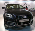 An audi q luxury suv on display in autocar performance show in mumbai held annually mmrda grounds bandra kurla complex Royalty Free Stock Photo