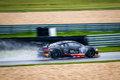 Audi r rms ultra race car photographed during blancpain gt series at slovakia ring august Stock Image