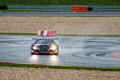 Audi r rms ultra race car photographed during blancpain gt series at slovakia ring august Royalty Free Stock Images