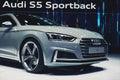 2017 Audi S5 Sportback Royalty Free Stock Photo