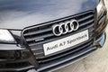 Audi A7 Sportback Black Edition 2014 Black Mask Royalty Free Stock Photo