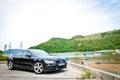Audi A7 Sportback Black Edition 2014 Royalty Free Stock Photo