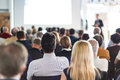 Audience in the lecture hall. Royalty Free Stock Photo