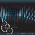 Audio Background Royalty Free Stock Photography