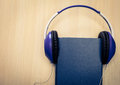 Audio books concept Royalty Free Stock Photo