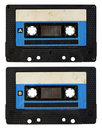 Audio cassette isolated Stock Photography