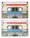 Audio cassette isolated Stock Images