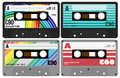 Audio Cassette Tapes Royalty Free Stock Images