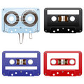 Audio cassettes Stock Photography