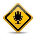 Audio icon Royalty Free Stock Photo