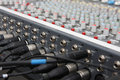 Audio mixer. Royalty Free Stock Photo