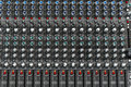 Audio mixer Royalty Free Stock Photography