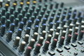 Audio mixer console Stock Photos