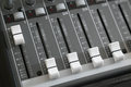 Audio mixer deck Royalty Free Stock Photo