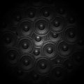 Audio music speaker background Royalty Free Stock Photo