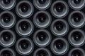 Audio speaker pattern Royalty Free Stock Photo