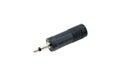 Audio plug adapter Royalty Free Stock Photo