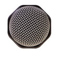 Audio recording microphone closeup. Royalty Free Stock Images