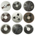 Audio reels Stock Images
