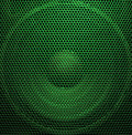 Audio speaker Stock Image