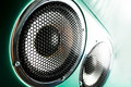 Audio speaker the musical equipment close up Royalty Free Stock Photo
