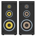 Audio speakers Stock Images