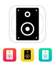 Audio speakers icon vector illustration Royalty Free Stock Photos
