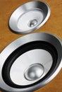 audio stereo system sound speaker Royalty Free Stock Photo