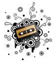 Audio tape Royalty Free Stock Photo