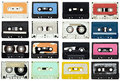 Audio tape Royalty Free Stock Photo