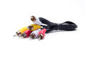 Audio Video Cable Royalty Free Stock Photo