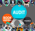 Audit Bookkeeping Finance Money Report Concept Royalty Free Stock Photo
