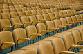 Auditorium chairs Royalty Free Stock Photo