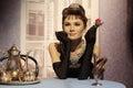 Audrey Hepburn Royalty Free Stock Photo