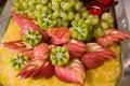 Aufbau von der Frucht. Stockfotografie