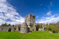 Aughnanure Castle ground Royalty Free Stock Images