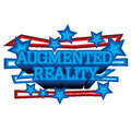 Augmented reality a simple mnemonic on Stock Images
