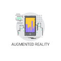 Augmented Reality Visual Technology Icon