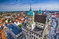 Augsburg germany old townscape Royalty Free Stock Image