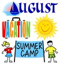 August Events Clip Art Set/eps