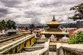 August 18, 2014 - Pashupatinath Temple in Kathmandu, Nepal Royalty Free Stock Photo