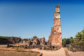 Augustine ruins in old goa goa state india Stock Photography